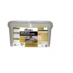 MORTIER DE REPARATION FIBRE HAUTE PERFORMANCE 25KG